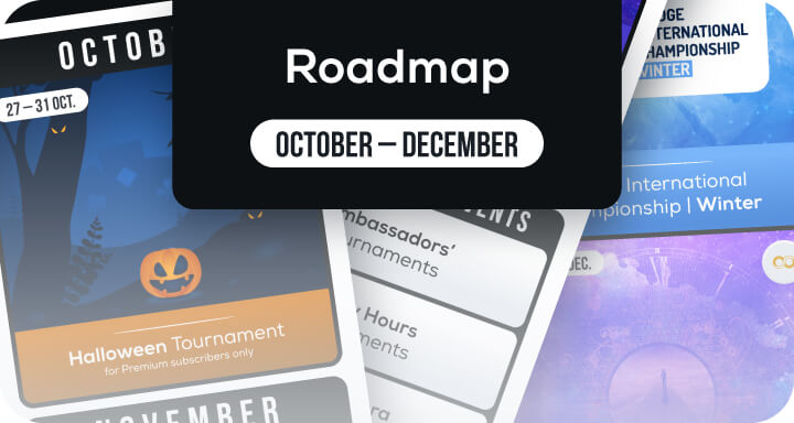 Roadmap Funbridge events