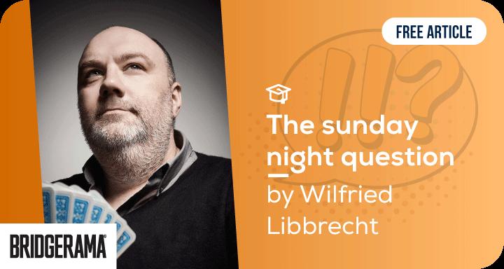 The sunday night question - bridge conversation