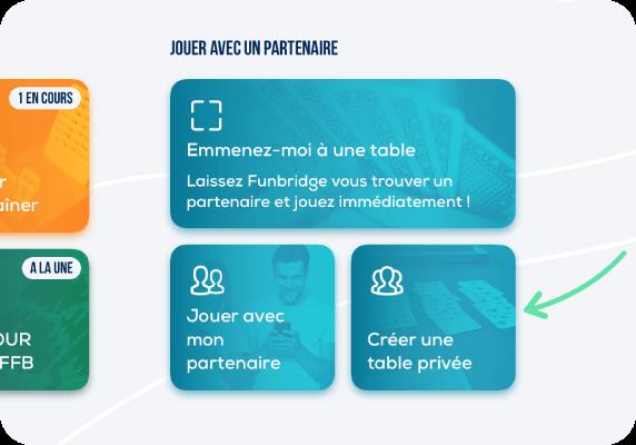 Créer une table privée