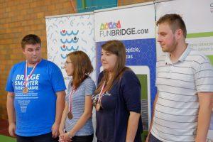 Photos du tournoi Funbridge pendant le Baltic Festival