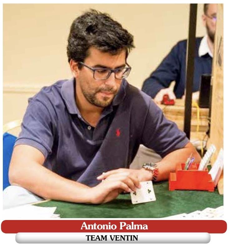 Antonio Palma professionnel bridge player
