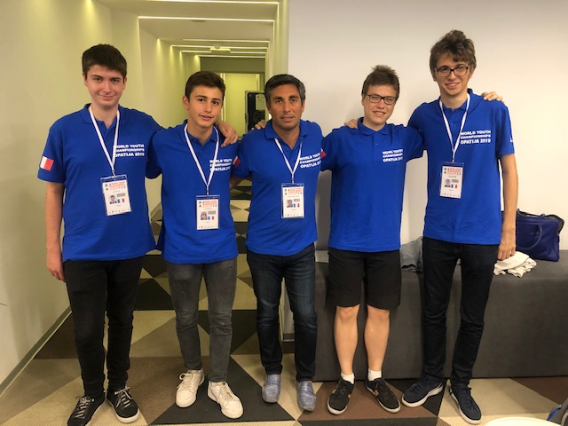 6th World Youth Open Championships: Team France Youngsters