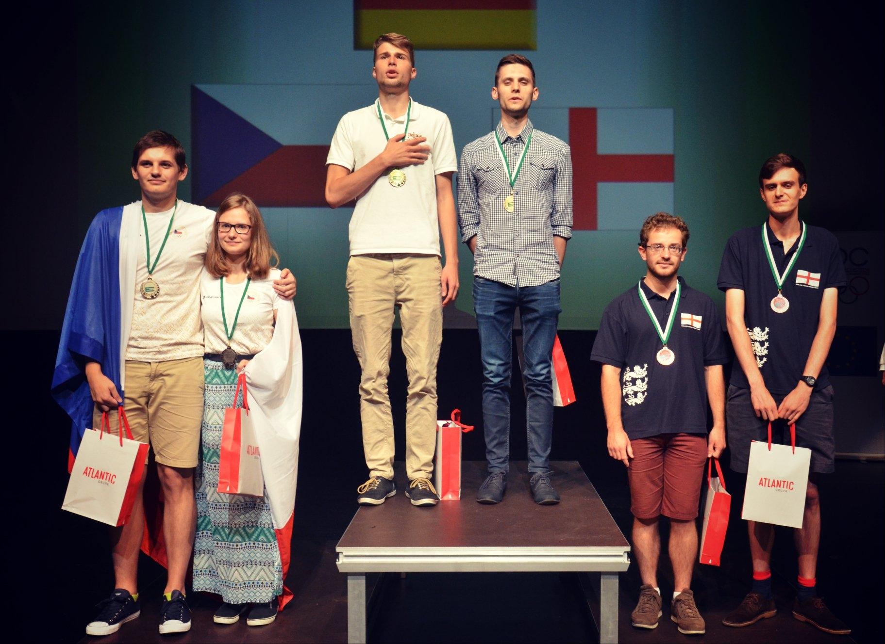 14èmes Championnats d'Europe Juniors par paires
