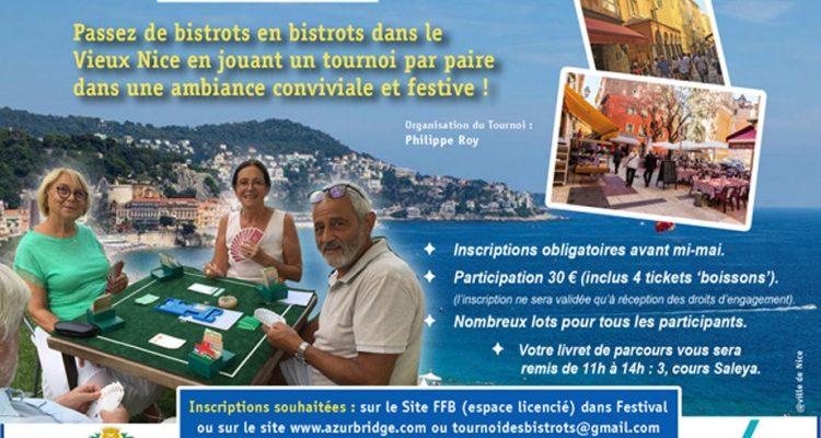 Tournoi de Bridge des Bistrots du Vieux Nice