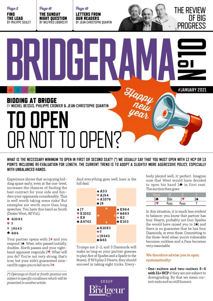 Bridgerama magazine January 2021