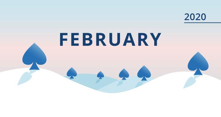 calendrier fevrier 2020