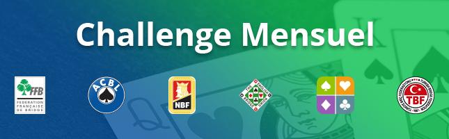 Fédérations de bridge partenaires du Challenge Mensuel