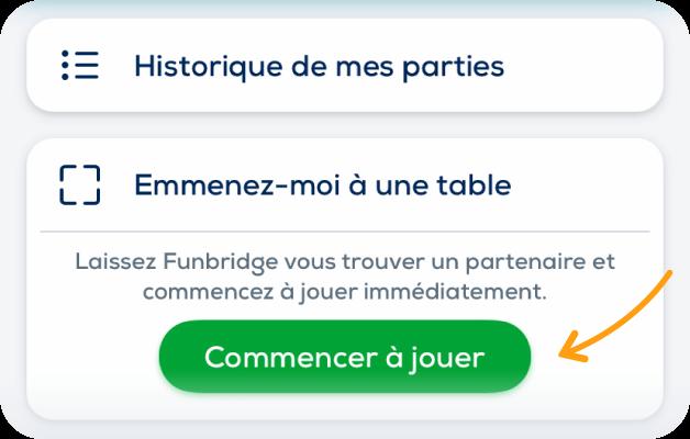 emmenez moi a une table multijoueur funbridge