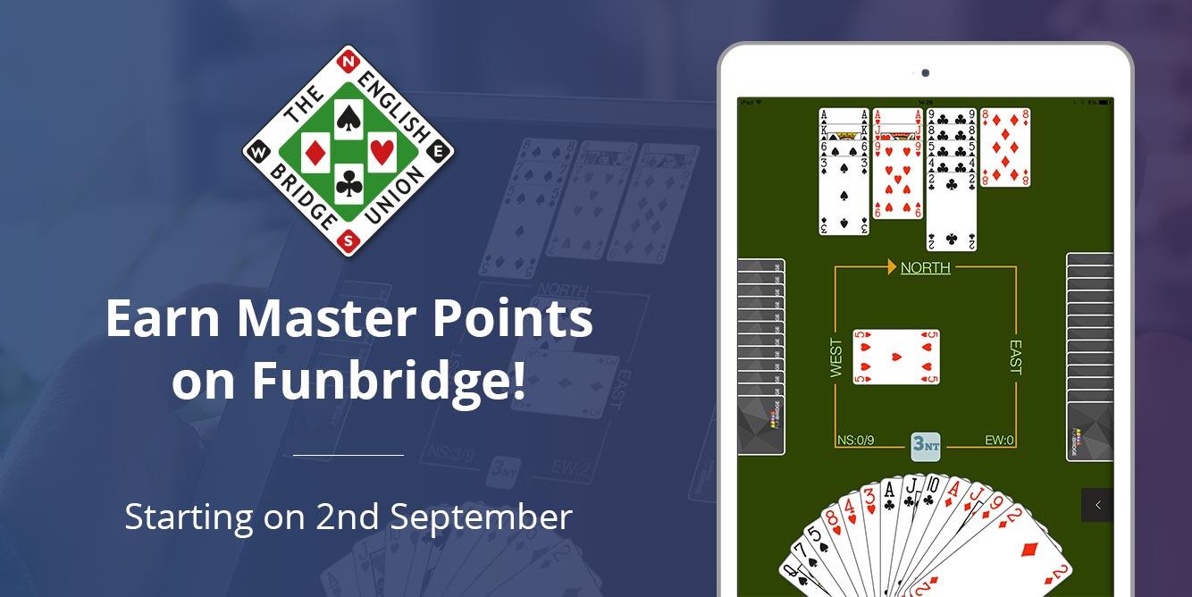 Bridge tournaments : English Bridge Union Master Points