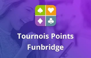 Newsletter Funbridge octobre 2018 : Tournois Points Funbridge