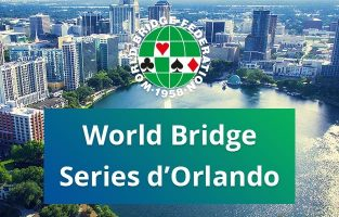 Newsletter Funbridge octobre 2018 : World Bridge Series d'Orlando