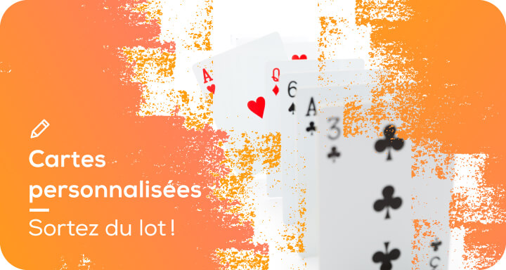 jeux de cartes personnalisées