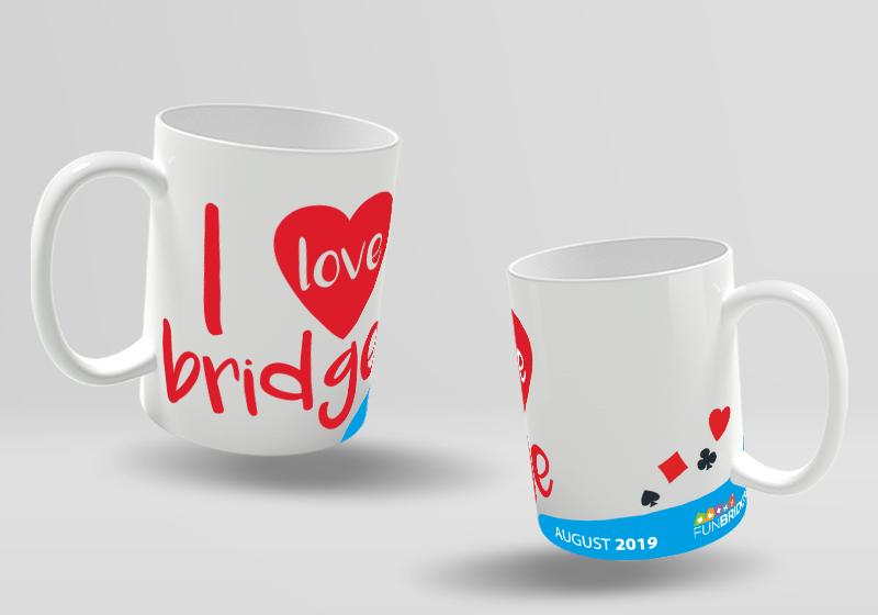 Monthly Challenge Funbridge Collector's Mug