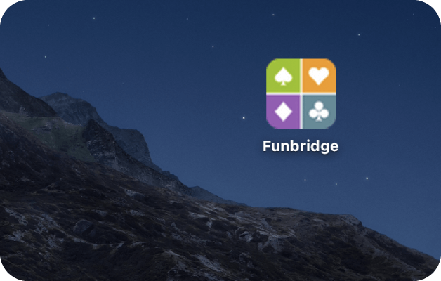 raccourci bureau Funbridge