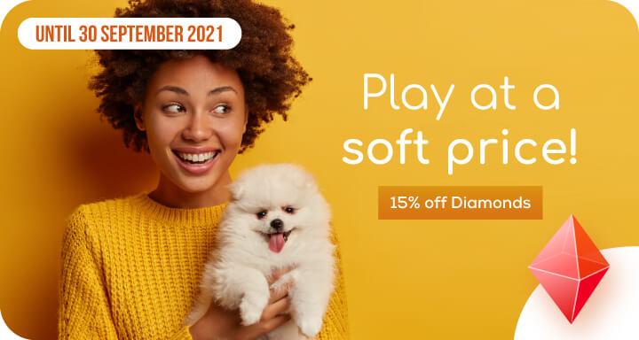 soft price diamonds september 2021