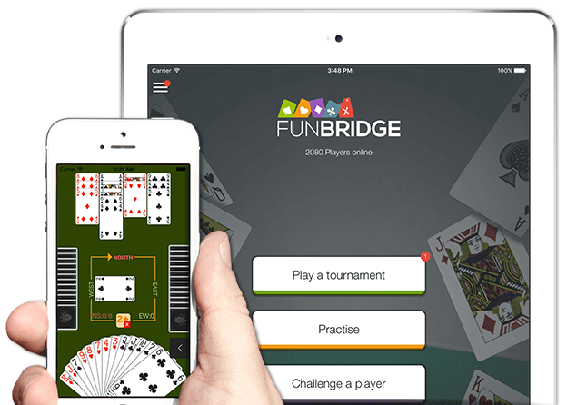 Play bridge for free on iPhone, iPad and iPod Touch